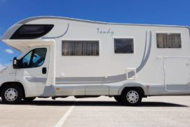 Rent a McLouis Tandy 635G Motorhome Camper Van and Recreation Vehicle (RV)