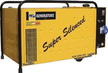 Motorhome Camper Van and Recreation Vehicle (RV) generator