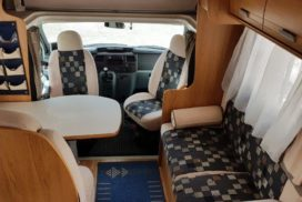 Rent a Motorhome - Rimor Superbrige 678 Motorhome Camper Van and Recreation Vehicle (RV)