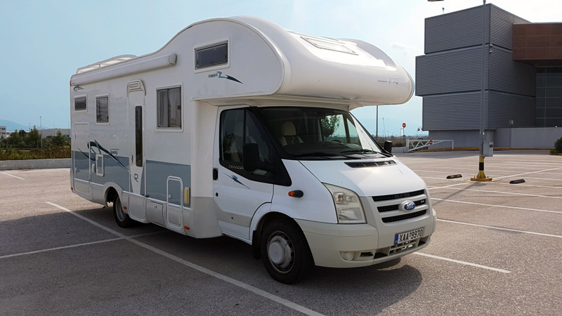 Rimor Superbrige 678 Motorhome Camper Van and Recreation Vehicle (RV)