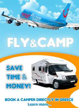 Fly & Camp - Save time and money - Rent a camper