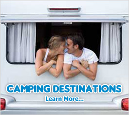 Camping Destinations - Rent a motorhome