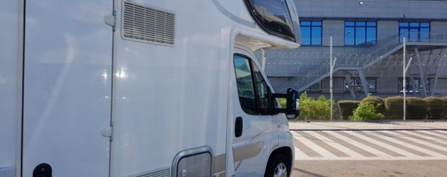 Motorhome airport pick up Athens